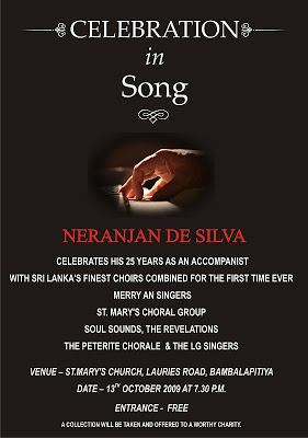 Neranjan de Silva – Celebration in Song