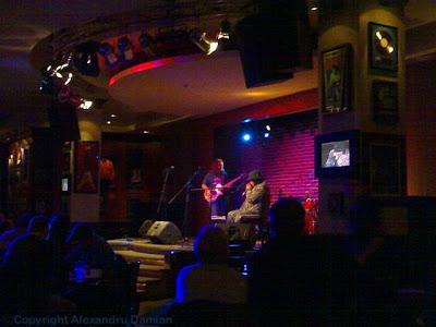 Boo Boo Davis at Hard Rock Cafe