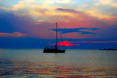 Croatia – Sunset over Pag Island