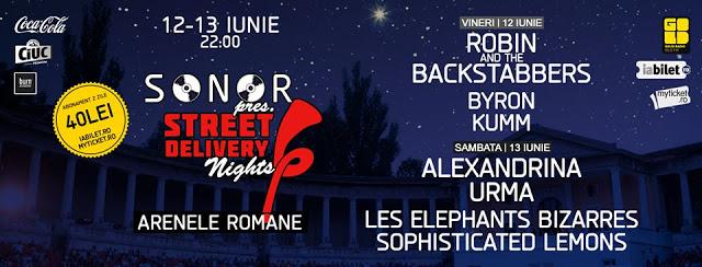 Sonor pres. Street Delivery Nights