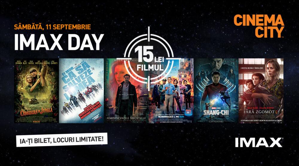 De ce să-ți eliberezi programul de IMAX DAY