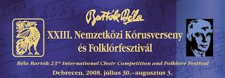 Bela Bartok 23nd International Choir Competition
