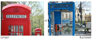 London vs Bucharest