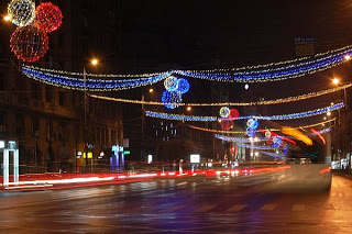Lumini in Bucuresti