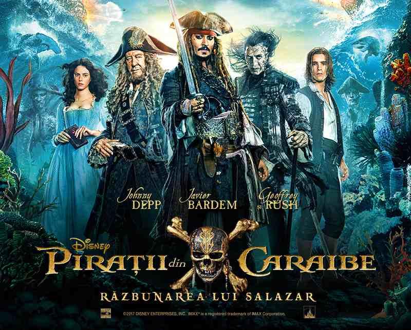 Pirates of the Caribbean: Dead Men Tell No Tales sau Răzbunarea lui Salazar #devăzut