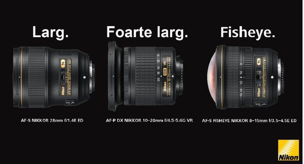 Nikon lansează trei noi obiective