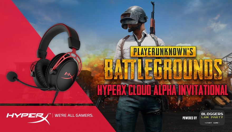PUBG HyperX Cloud Alpha