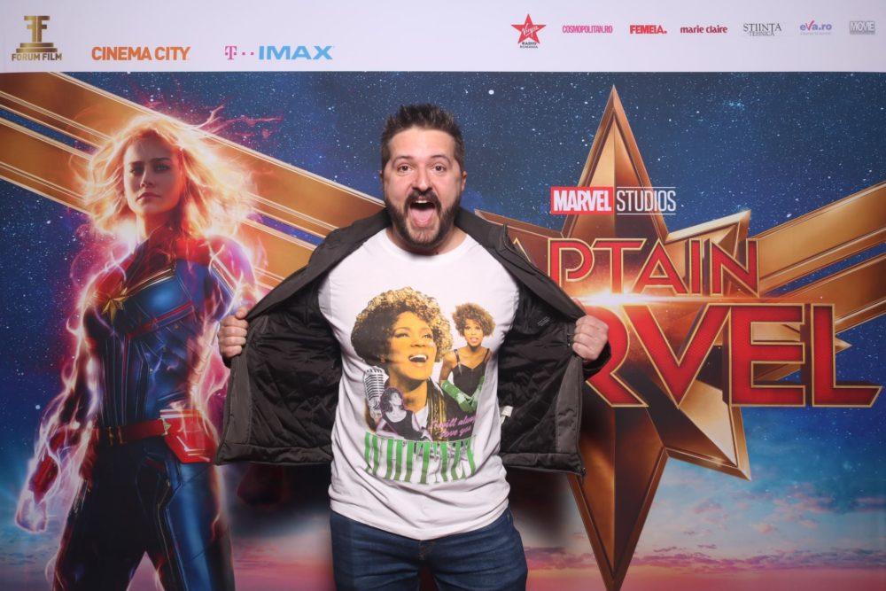 Captain Marvel #devăzut